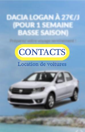 Contact – Location de voiture en Guadeloupe